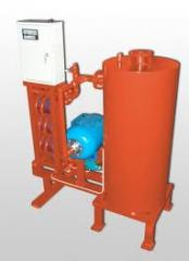 Complexes of preparation of liquid fuel