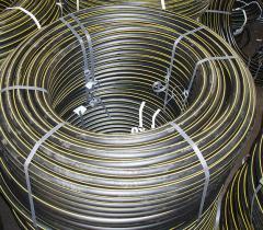 Газовые трубы из полиэтилена марки ПЭ-80