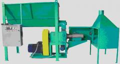 Press and screw AKP-350, productivity is 350+ kg/h