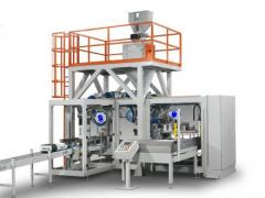 The automatic transfer line of packing of flour in