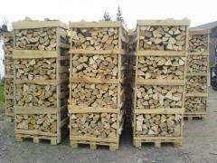 Firewood of apple-tree