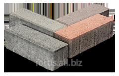 "Tile vibrocast ""Brick""."