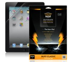 Shock-proof film of BUFF for IPad 3