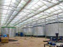 Modular reservoirs for agriculture from the