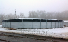 Tanks for storage of liquid mineral fertilizers