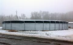 Tanks for storage of liquid mineral fertilizers