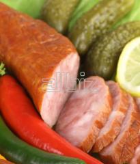 Колбасы копчёно-варёные