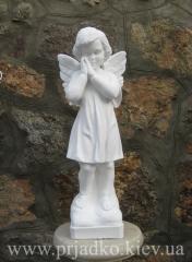 Ангел из декоративного бетона