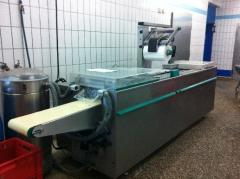 Automatic CFS INNOVATION packaging transfer line