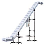 Lifting conveyor, lifting tape conveyor