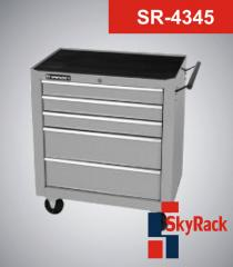 Cart of tool 5 boxes SR-4345 SkyRack