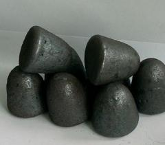 Ellipsoids from the bleached cast iron 27х32