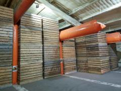 Equipment for storage of garlic, vegetables and