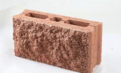 Блок бетонный колотый