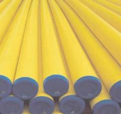 Pipe polyethylene gas (plastic, PND)