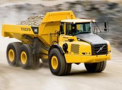 Сочлененные самосвалы Volvo: Серия E груз-ть 25-40