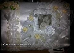 The decorated wedding album