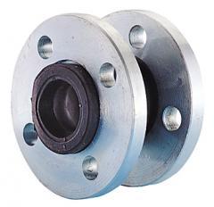 Flange rubber compensator