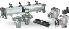 Receivers with the built-in POWER PULSE valves for