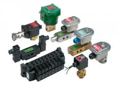 Solenoidal valves for potentially explosive