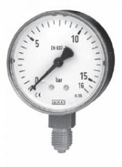 Mechanical manometers of WIKA: Tube spring