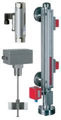 The sensor for control of level of Kuebler bulks