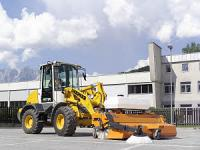 Wheel bucket loaders for pits of Liebherr L 509