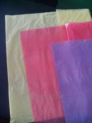 Cloths are polyethylene disposable