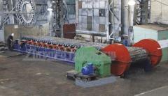Питатель пластинчатый для равномерной подачи сыпучих материалов плотностью до 2,4 т/куб.м, кусковатостью не более 0,5 ширины полотна и массой куска до 500 кг непосредственно в технологические машины, пр-во Днепротяжмаш, Украина