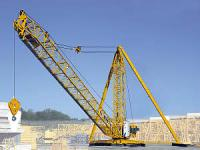 The Liebherr 200 DR 5/10 Litronic tower crane for
