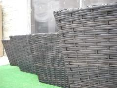 Flower flowerpots (rattan) from the producer