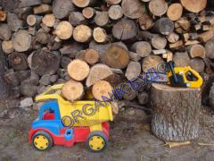 Firewood chocks with delivery in Kiev and area