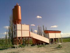 Concrete mixing plant of SB-145-4