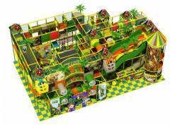 Labyrinth children's for amusement parks