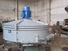 SB-138 concrete mixer B of forced action