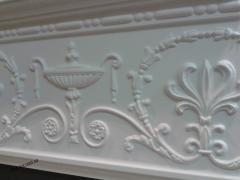 Polyurethane eaves, friezes, plinths, baguettes,