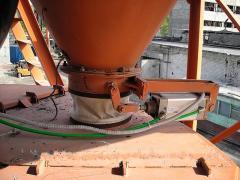 Cement doser lock