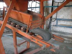 Device of conveyor loading