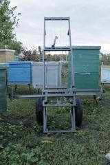 The special load trolleys adapted for