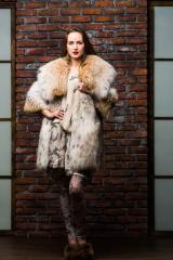 Exclusive tailoring of a fur coat from the