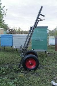 The equipment for beekeeping - apiary cart with