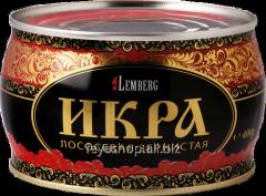 Caviar of the Siberian salmon 400S casket of