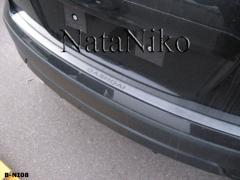 Накладка на бампер Nissan Qashqai