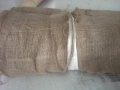 Мешковина 250 гр-Ткань джутовая