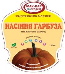 Meal of seeds of pumpkin fat-free, (250 g)