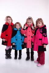 Пальто детское кристина
