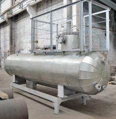 Separator for oil products