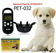 Electronic accumulator waterproof collar with