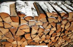 Firewood dry birch