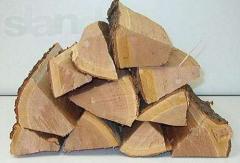 Firewood is dry frui
